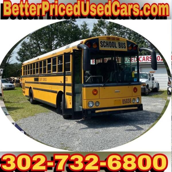 2002 Freightliner FL70 for sale at Better Priced Used Cars in Frankford DE