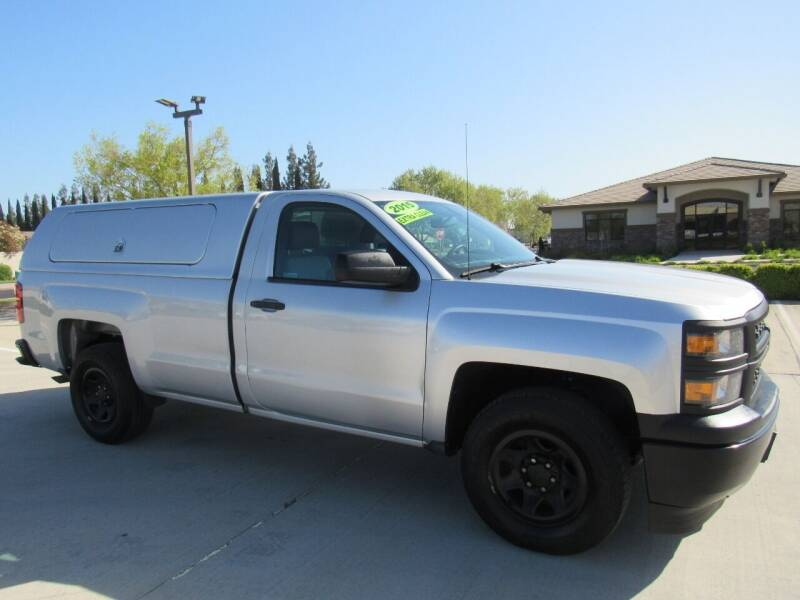2015 Chevrolet Silverado 1500 for sale at Repeat Auto Sales Inc. in Manteca CA