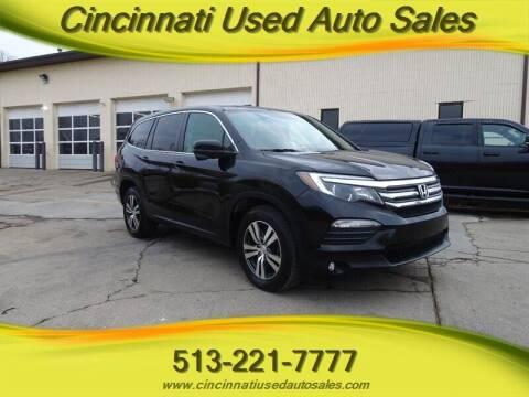 2016 Honda Pilot for sale at Cincinnati Used Auto Sales in Cincinnati OH