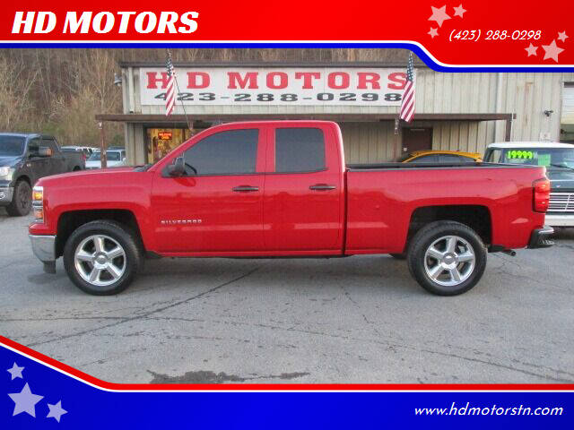 2014 Chevrolet Silverado 1500 for sale at HD MOTORS in Kingsport TN