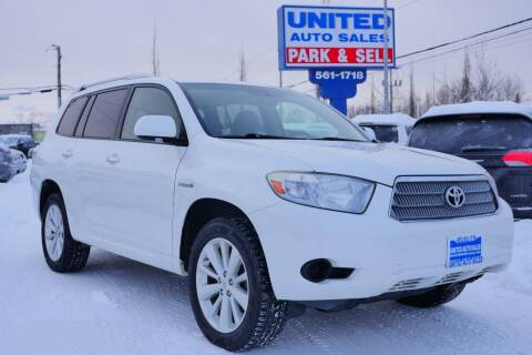 2008 Toyota Highlander Hybrid for sale at United Auto Sales in Anchorage AK
