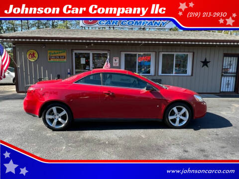 2007 Pontiac G6 for sale at Johnson Car Company llc in Crown Point IN