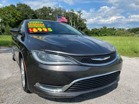 2016 Chrysler 200 for sale at Auto Export Pro Inc. in Orlando FL