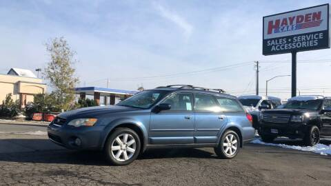 2006 Subaru Outback for sale at Hayden Cars in Coeur D Alene ID