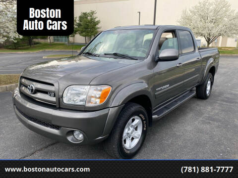 2005 Toyota Tundra for sale at Boston Auto Cars in Dedham MA