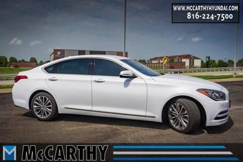 2017 Genesis G80 for sale at Mr. KC Cars - McCarthy Hyundai in Blue Springs MO