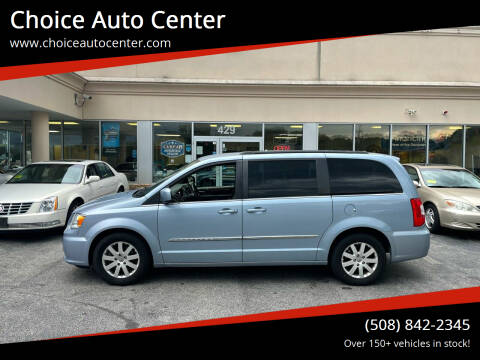 2013 Chrysler Town and Country for sale at Choice Auto Center in Shrewsbury MA