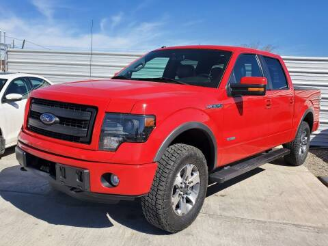 2014 Ford F-150 for sale at Hugo Motors INC in El Paso TX