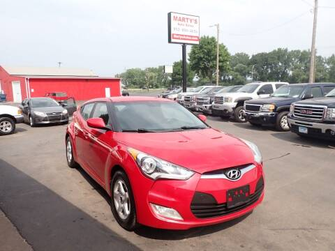 2017 Hyundai Veloster for sale at Marty's Auto Sales in Savage MN