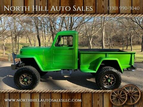 1950 Willys CJ-1 for sale at North Hill Auto Sales in Akron OH