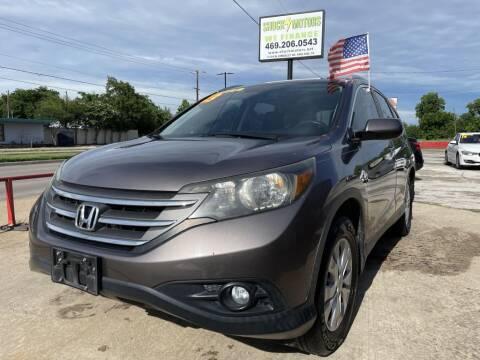 2013 Honda CR-V for sale at Shock Motors in Garland TX