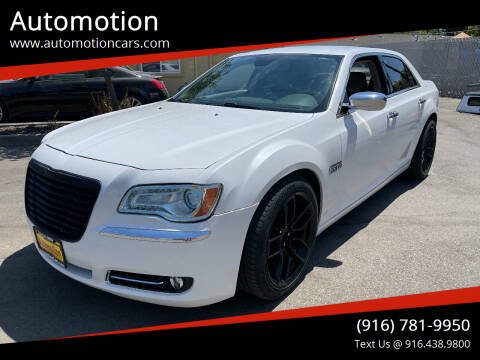 2013 Chrysler 300 for sale at Automotion in Roseville CA