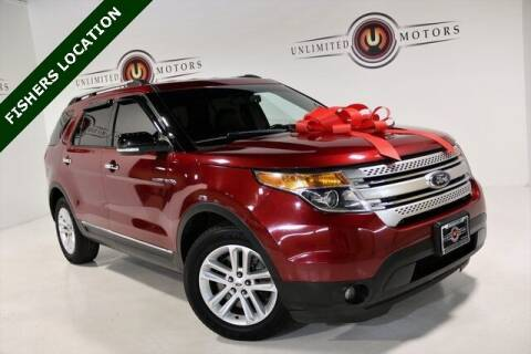 2014 Ford Explorer for sale at Unlimited Motors in Fishers IN