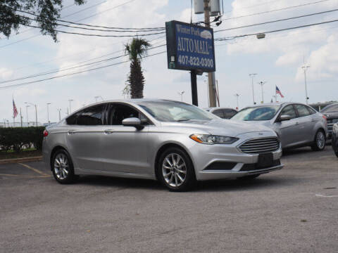 2017 Ford Fusion for sale at Winter Park Auto Mall in Orlando FL