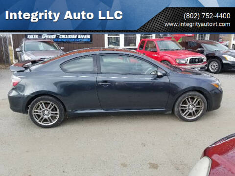 2009 Scion tC for sale at Integrity Auto LLC - Integrity Auto 2.0 in St. Albans VT