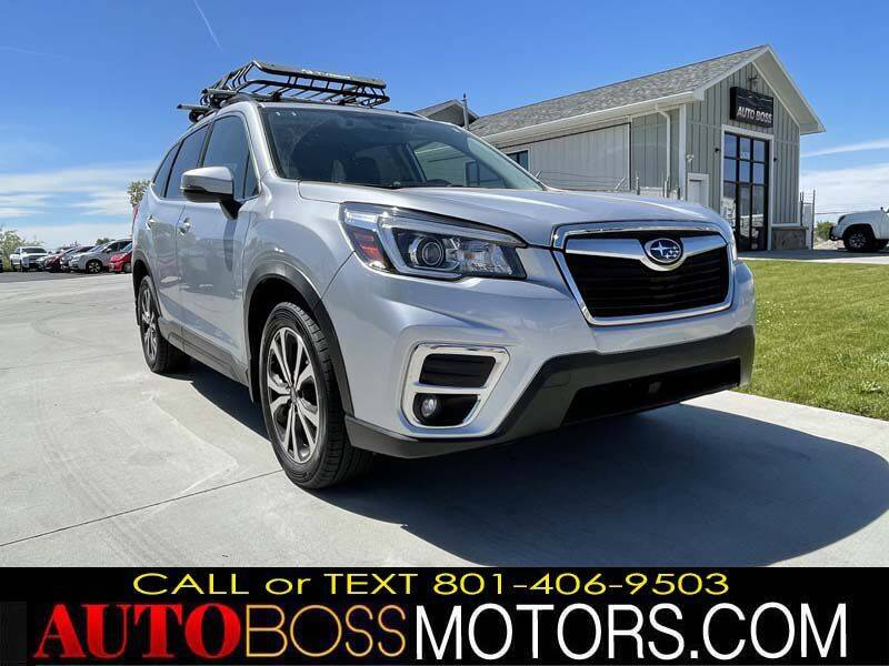 2019 Subaru Forester for sale at Auto Boss in Woods Cross UT