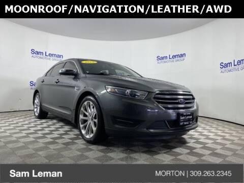 2018 Ford Taurus for sale at Sam Leman CDJRF Morton in Morton IL