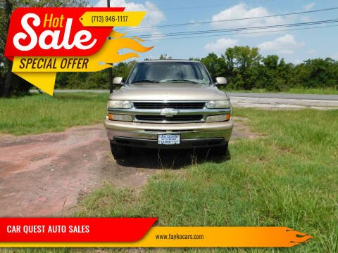 2005 Chevrolet Suburban for sale at CAR QUEST AUTO SALES in Houston TX