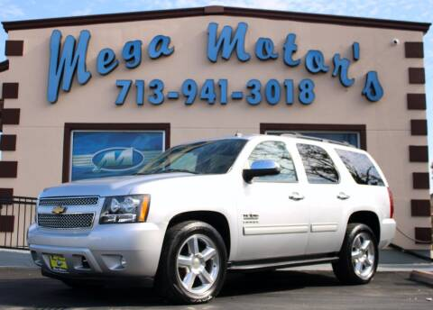 2012 Chevrolet Tahoe for sale at MEGA MOTORS in South Houston TX