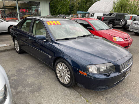 2004 Volvo S80 for sale at Low Auto Sales in Sedro Woolley WA