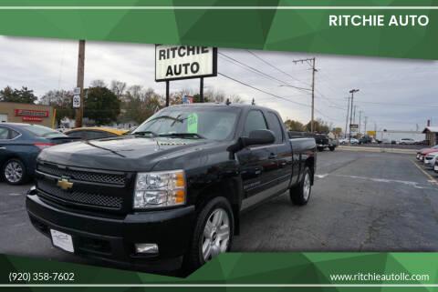 2008 Chevrolet Silverado 1500 for sale at Ritchie Auto in Appleton WI