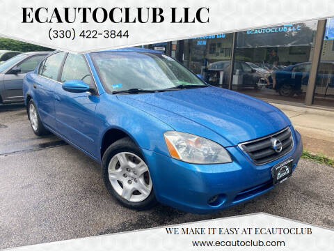 2003 Nissan Altima for sale at ECAUTOCLUB LLC in Kent OH