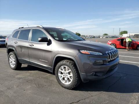 2014 Jeep Cherokee for sale at A.I. Monroe Auto Sales in Bountiful UT