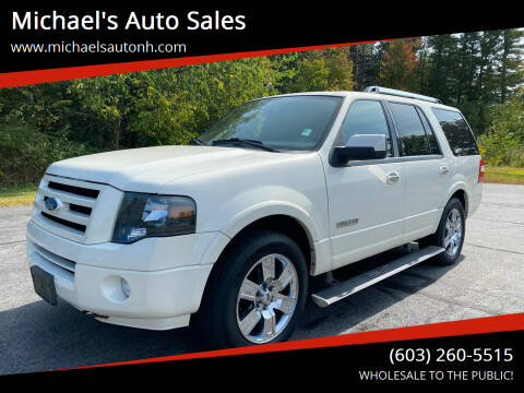 2008 Ford Expedition for sale at Michael's Auto Sales in Derry NH