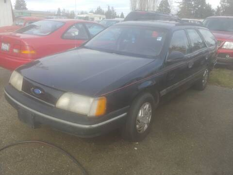 1987 Ford Taurus for sale at JMG MOTORS in Lynden WA