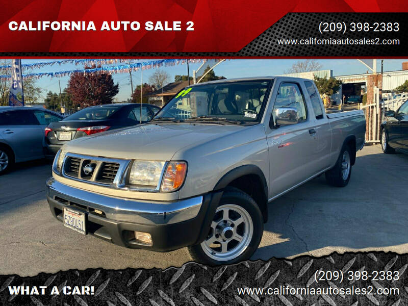 1999 Nissan Frontier for sale at CALIFORNIA AUTO SALE 2 in Livingston CA