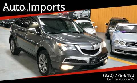 2011 Acura MDX for sale at Auto Imports in Houston TX