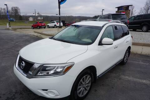 2016 Nissan Pathfinder for sale at MyEzAutoBroker.com in Mount Vernon OH