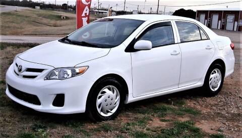 2013 Toyota Corolla for sale at Advantage Auto Sales in Wichita Falls TX