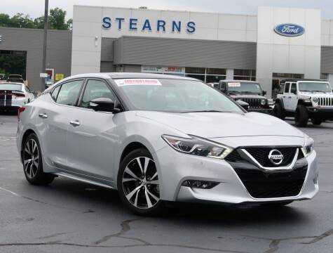 2018 Nissan Maxima for sale at Stearns Ford in Burlington NC