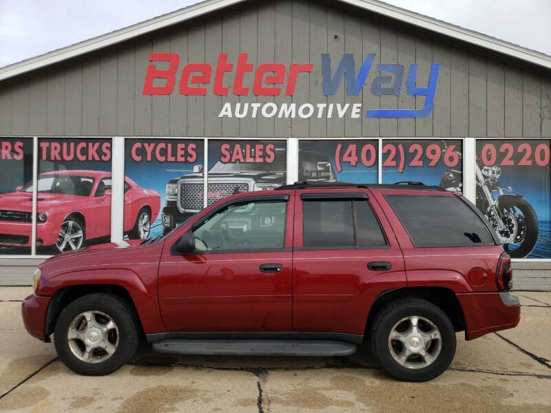 2007 Chevrolet TrailBlazer for sale at Betterway Automotive Inc in Plattsmouth NE