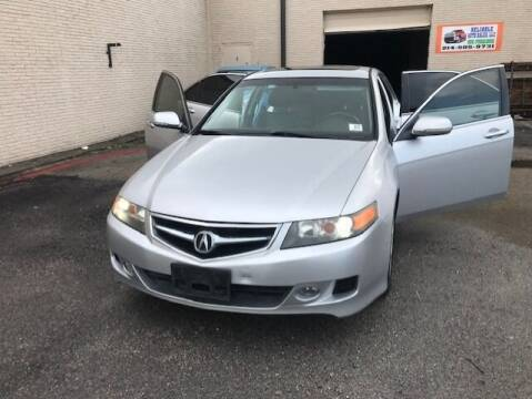 2006 Acura TSX for sale at Reliable Auto Sales in Plano TX