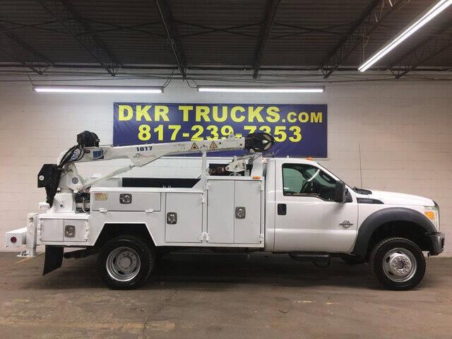 2011 Ford F-550 Super Duty for sale at DKR Trucks in Arlington TX