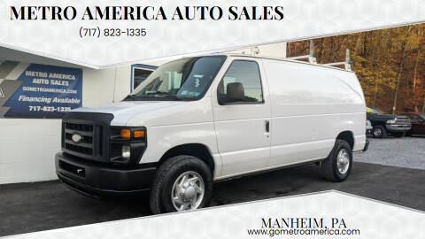 2014 Ford E-Series Cargo for sale at METRO AMERICA AUTO SALES of Manheim in Manheim PA