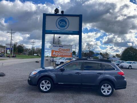 2014 Subaru Outback for sale at Corry Pre Owned Auto Sales in Corry PA