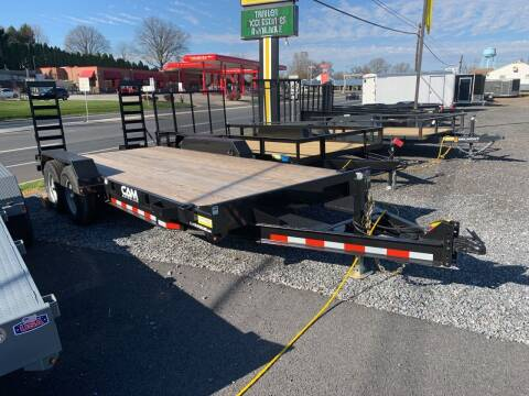 2020 CAM SUPERLINE 18ft Equipment Trailer  for sale at Smart Choice 61 Trailers in Shoemakersville PA