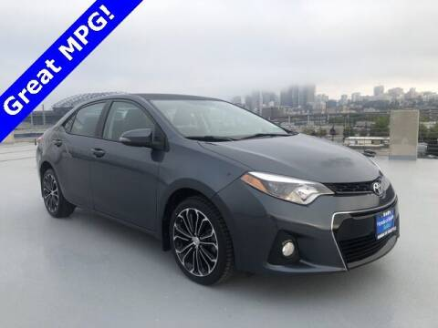 2016 Toyota Corolla for sale at Honda of Seattle in Seattle WA