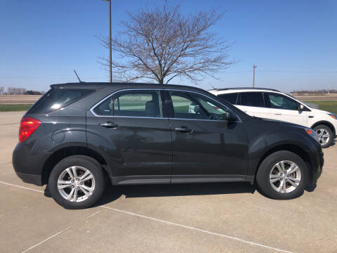 2013 Chevrolet Equinox for sale at Rowley Auto Co in Pierce NE