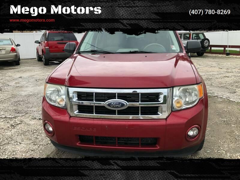 2008 Ford Escape for sale at Mego Motors in Orlando FL