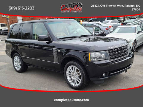 2011 Land Rover Range Rover for sale at Complete Auto Center , Inc in Raleigh NC