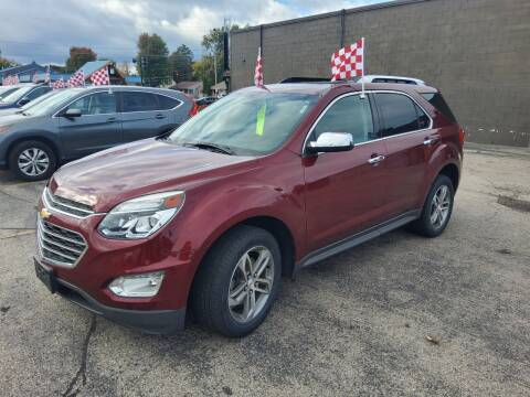 2016 Chevrolet Equinox for sale at Knights Autoworks in Marinette WI