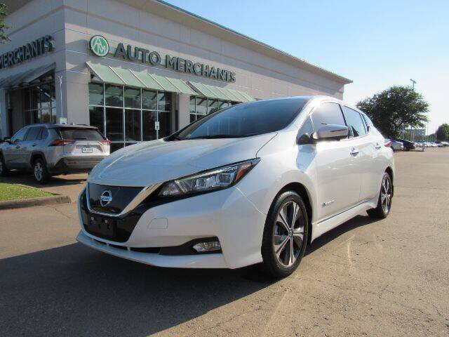 2018 Nissan LEAF for sale in Plano, TX