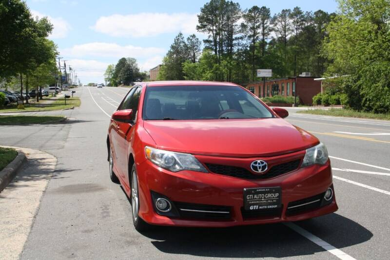 2012 Toyota Camry for sale at GTI Auto Exchange in Durham NC