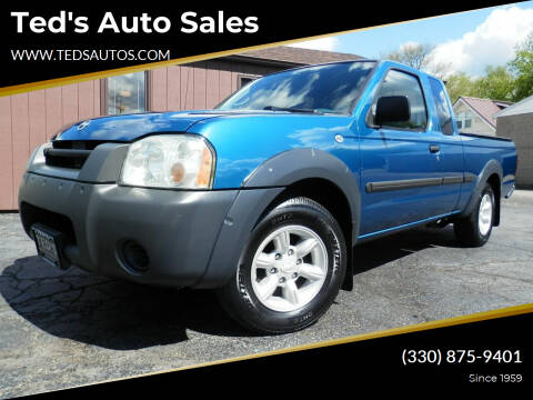 2002 Nissan Frontier for sale at Ted's Auto Sales in Louisville OH