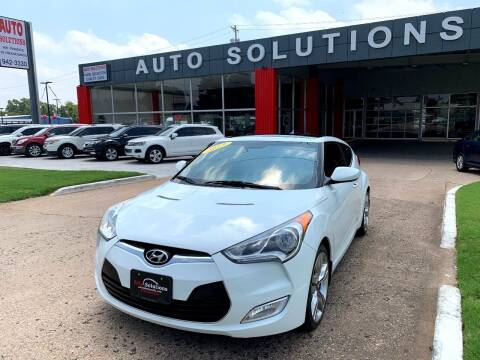 2013 Hyundai Veloster for sale at Auto Solutions in Warr Acres OK