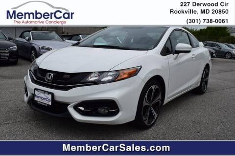 2015 Honda Civic for sale at MemberCar in Rockville MD